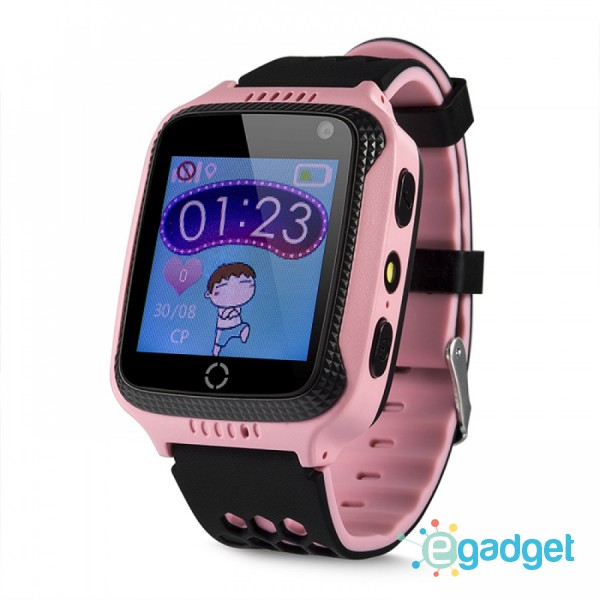 Smart Baby Watch Q529 Pink with flashlight