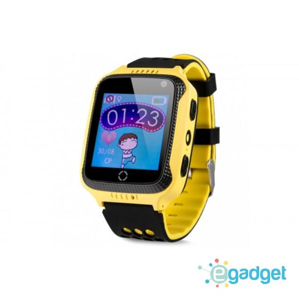 Smart Baby Watch Q529 Yellow with flashlight