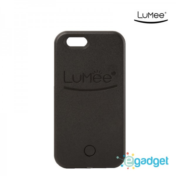 Чехол LuMee Black для iPhone