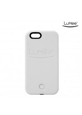 Чехол LuMee White для iPhone