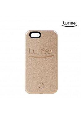 Чехол LuMee Gold для iPhone