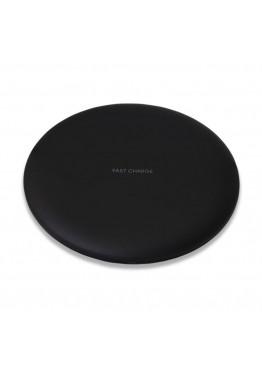 Беспроводное зарядное устройство Qitech Fast Charger Black с технологией Qi
