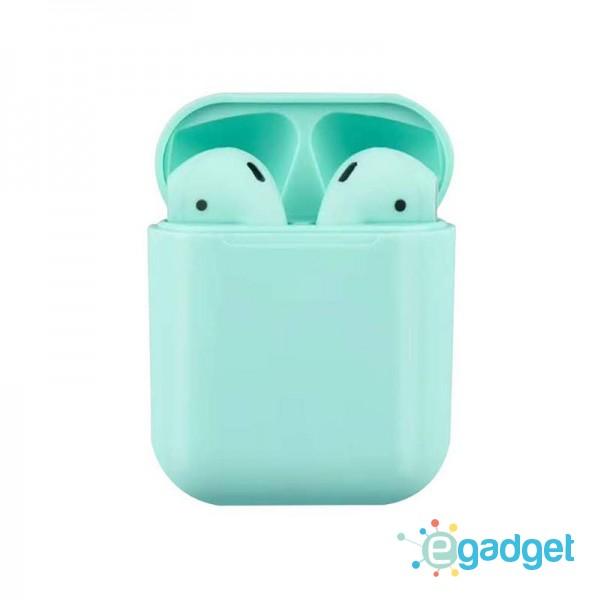 Сенсорные беспроводные Bluetooth наушники i18 TWS Original Blue