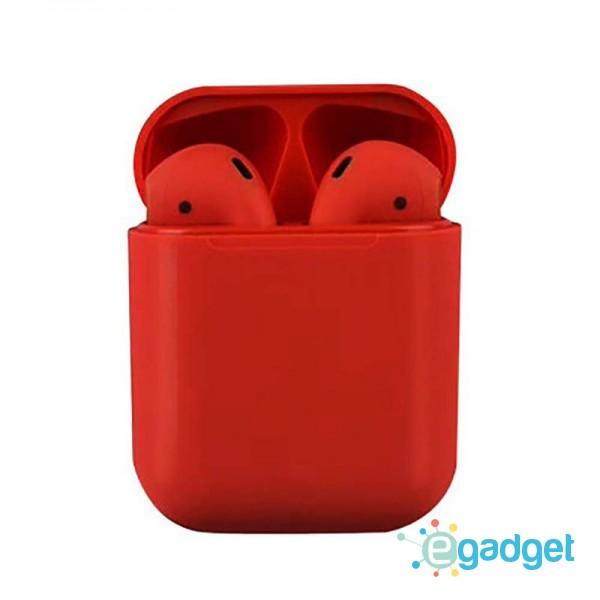 Сенсорные беспроводные Bluetooth наушники i18 TWS Original Red
