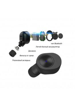Беспроводные Bluetooth наушники Qitech Coal Buds Black