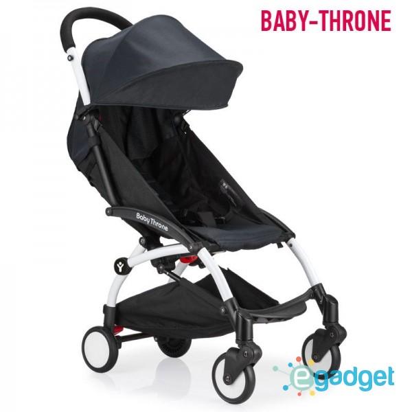 Детская коляска Baby Throne Black