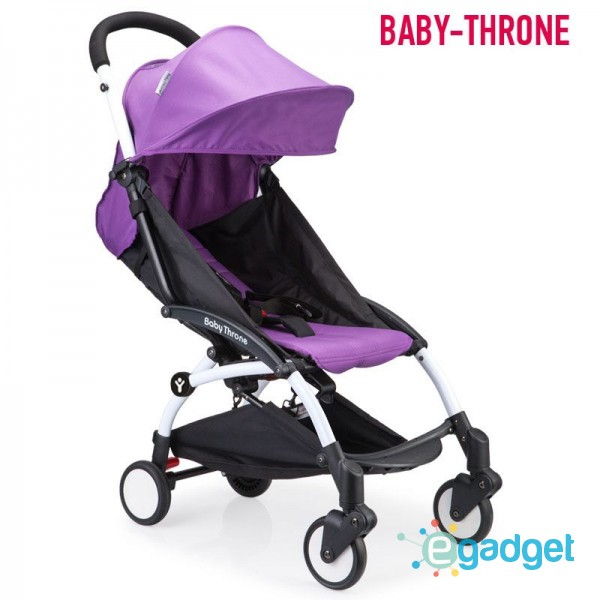 Детская коляска Baby Throne Violet
