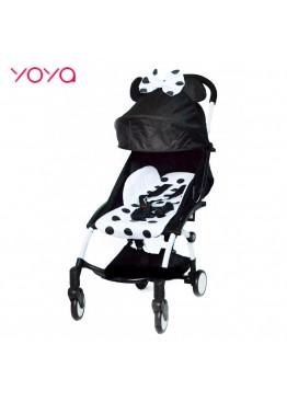 Детская коляска YOYA 175 A+ Black Mickey