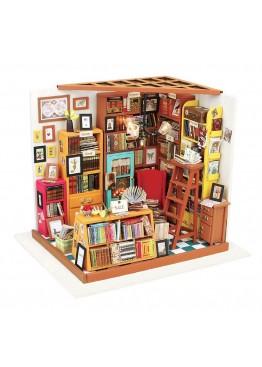 Интерьерный 3D конструктор DIY House Книжная лавка Sam's Study