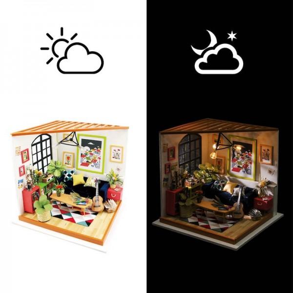 Интерьерный 3D конструктор DIY House Комната музыканта Locus's Living Room