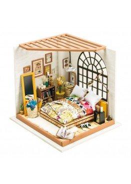 Интерьерный 3D конструктор DIY House Спальня Алисы Alice's Living Room