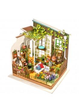 Интерьерный 3D конструктор DIY House Задний дворик Miller's Garden