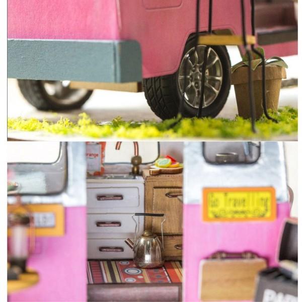 Румбокс DIY House Домик на колёсах Happy Camper