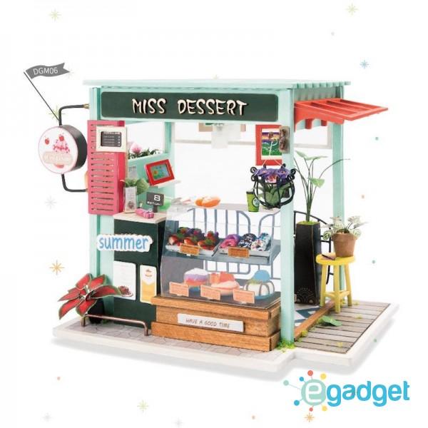 Румбокс DIY House Магазин сладостей Ice Cream Station