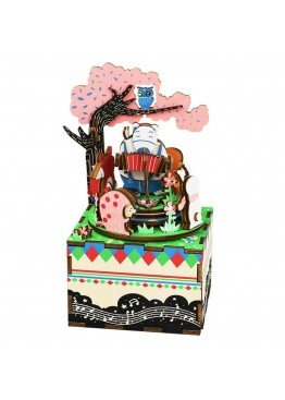 Музыкальная шкатулка конструктор DIY Music Box Лесной концерт Forest Concert