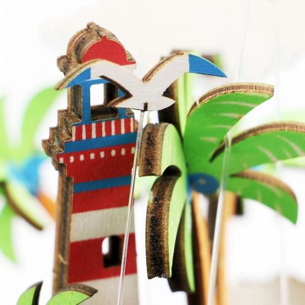 Музыкальная шкатулка конструктор DIY Music Box Остров желаний Vocational Island