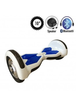 Гироскутер Allroad U8 LED PRO Music White/Blue (10 дюймов)