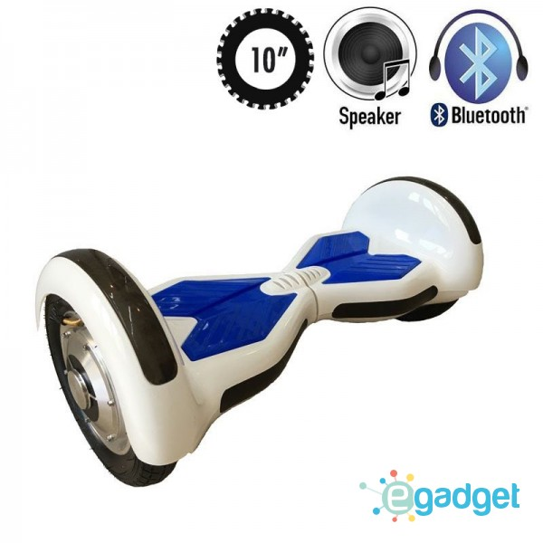 Гироскутер Allroad U8 LED PRO Music White/Blue