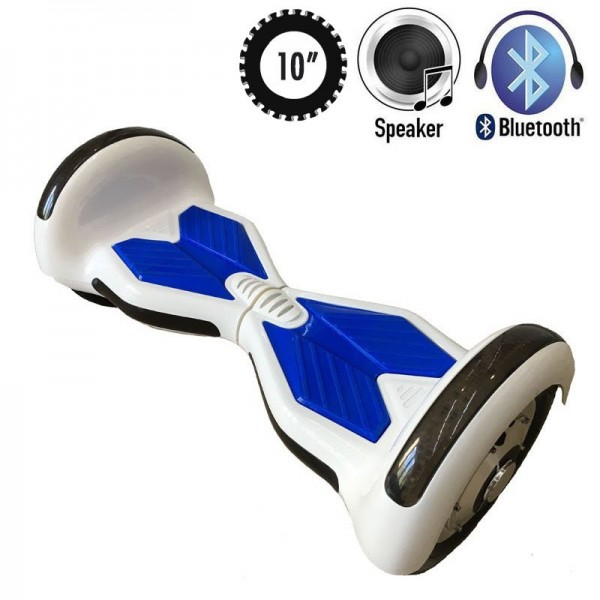 Гироскутер Allroad U8 LED PRO Music White/Blue