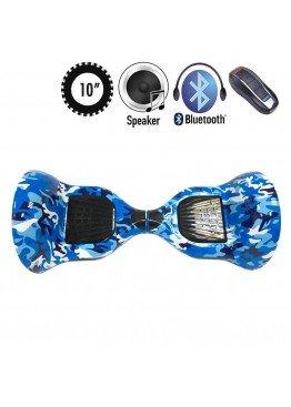 Гироскутер Allroad U8 PRO Music Blue khaki (10 дюймов)
