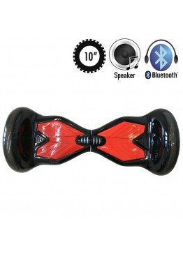 Гироскутер Allroad U8 LED PRO Music Black/Red (10 дюймов)