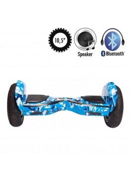 Гироскутер Allroad U8 Extreme Blue Khaki APP (10,5 дюймов)
