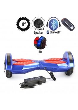 Гироскутер Lambo LED Music Blue/Red (8 дюймов)