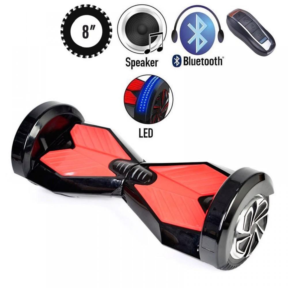 Гироскутер білий граффит Smart balance wheel Transformers 8