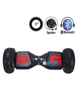 Гироскутер SmartWay Super Pro Black Red (11 дюймов)