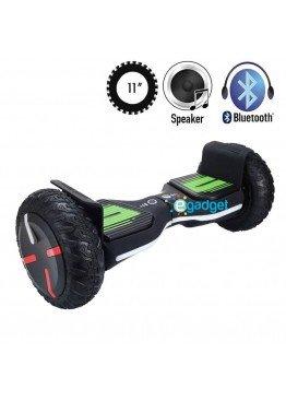 Гироскутер SmartWay Super Pro Black Green (11 дюймов)