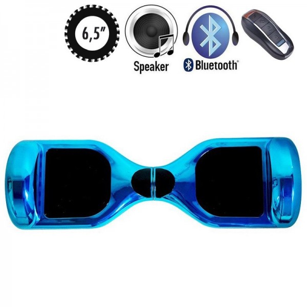 Гироскутер SmartWay U3 Pro Music Chrome Blue