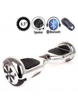 Гироскутер SmartWay U3 Pro Music Chrome Silver (6,5 дюймов)