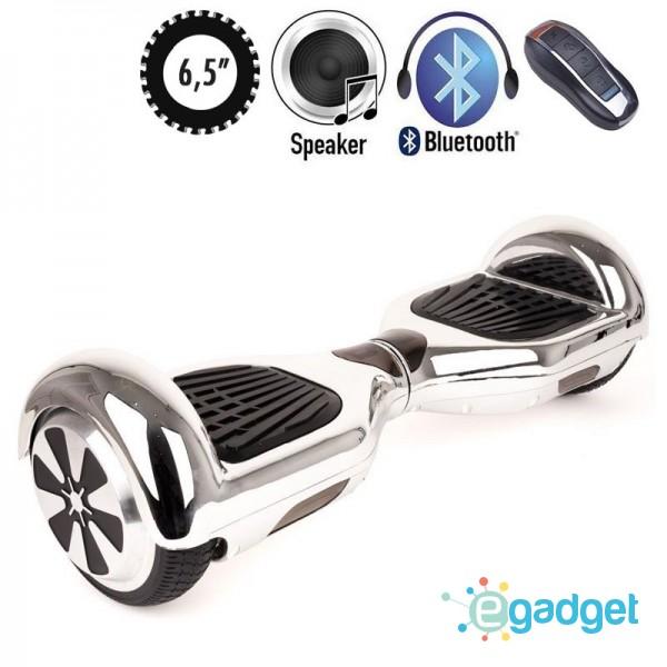Гироскутер SmartWay U3 Pro Music Chrome Silver
