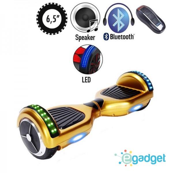 Гироскутер SmartWay U3 Pro Music Gold LED