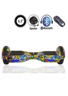 Гироскутер SmartWay U3 Pro Music Hip-Hop (6,5 дюймов)