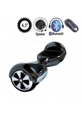 Гироскутер SmartWay U3 Pro Music Chrome Dark Silver (6,5 дюймов)