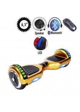 Гироскутер SmartWay U3 Pro Music Gold LED (6,5 дюймов)