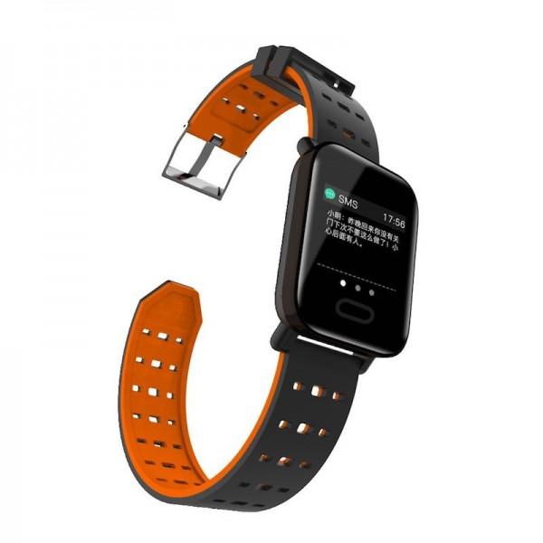 Smart Watch-bracelet A6 Red с тонометром