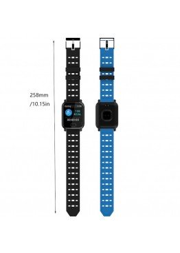 Smart Watch-bracelet A6 Blue с тонометром