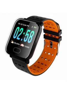 Smart Watch-bracelet A6 Red с тонометром