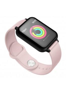 Smart Watch-bracelet B57 Pro pink с тонометром