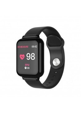 Smart Watch-bracelet B57 Pro black с тонометром