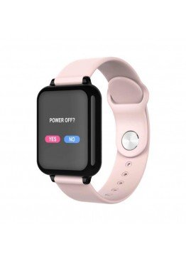 Smart Watch-bracelet B57 Pro pink с тонометром