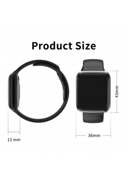 Smart Watch-bracelet CY05 Pro black с тонометром