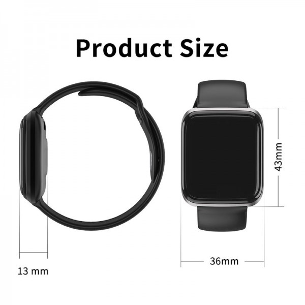 Smart Watch-bracelet CY05 Pro red с тонометром