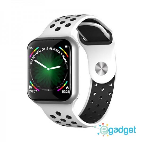Smart watch band F8 white с тонометром