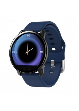 Smart watch band K9 blue с тонометром