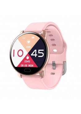 Smart watch band K9 pink с тонометром