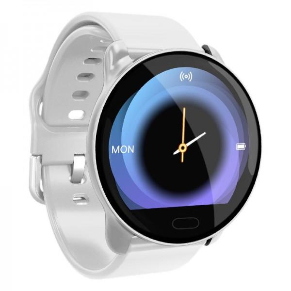 Smart watch band K9 white с тонометром
