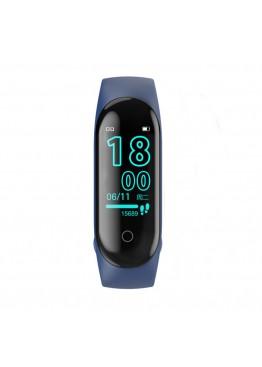 Smart band M4 Blue с измерением давления